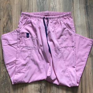 Pink scrub pant